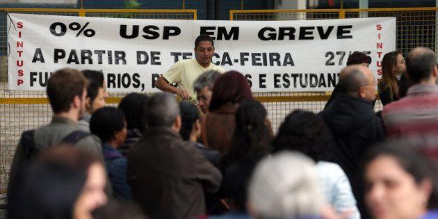 USP em greve: professores e servidores cruzam os braços a partir desta terça-feira