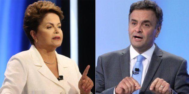 Pesquisa Datafolha mostra Dilma Rousseff quatro pontos percentuais à frente de Aécio Neves na corrida