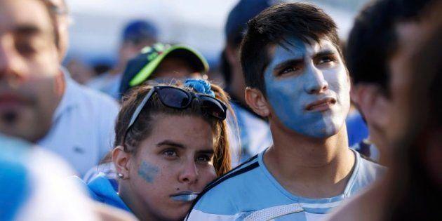 Após derrota da Argentina contra a Alemanha, brasileiros