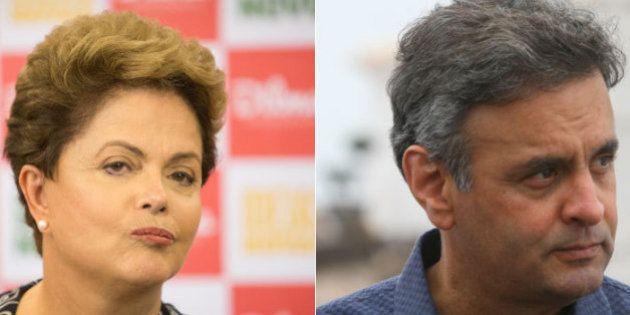 Apesar de empate técnico, Dilma Rousseff abre sobre Aécio Neves dentro da margem de erro, aponta Vox