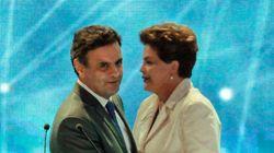 Agora elogios de Aécio a Dilma são usados pela campanha da