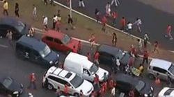 Protesto contra a Copa acaba em confronto entre PM e manifestantes em
