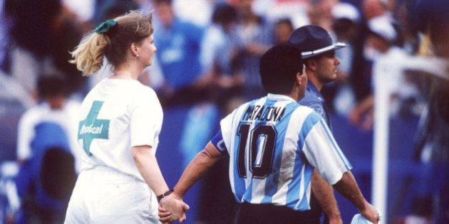 BOSTON, UNITED STATES - JUNE 25: WM 1994 in den USA, Boston; ARGENTINIEN - NIGERIA (ARG - NGA) 2:1; Diego...