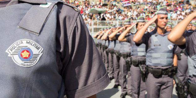 O governador Geraldo Alckmin Participa da Formatura de 1190 Soldados da Polícia Militar em São Paulo.Data:...