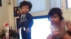Estas garotinhas coreanas ensinam como se dança DE