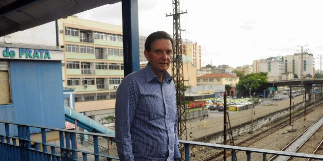 Ligado à Universal, senador Marcelo Crivella aposta em mensagens de autoajuda na campanha a governador...
