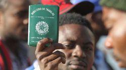 O número de haitianos que chega a São Paulo é