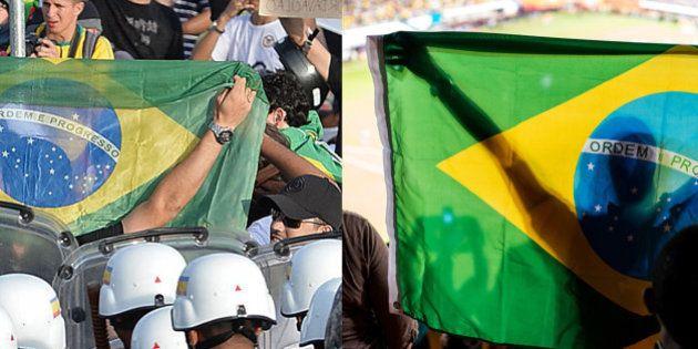 Vamos descer do muro: dá para torcer pela Seleção e protestar contra a Copa do