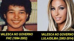 PSDB ou PT? Tumblr mostra diferenças de famosos nos dois