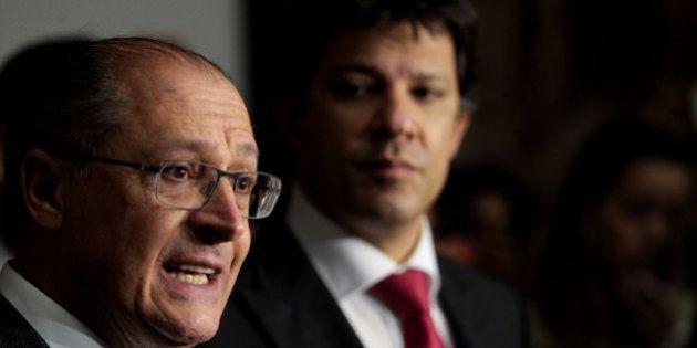 Geraldo Alckmin confirma aumento da tarifa do Metrô e CPTM em 2015, e deve ter a companhia de Fernando