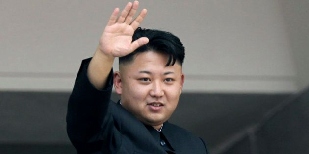 FILE - In this July 27, 2013, file photo, North Korean leader Kim Jong Un waves to spectators and participants...
