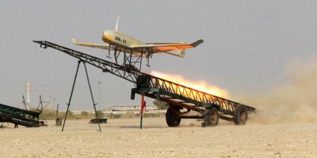 Irã testa drone suicida durante exercício no Golfo