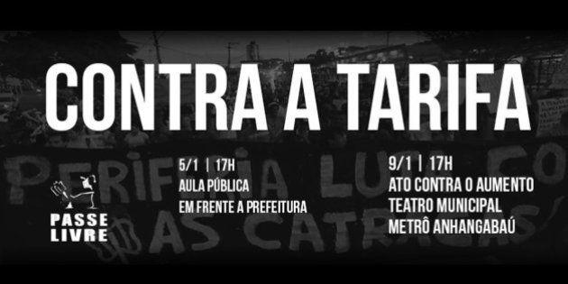 Movimento Passe Livre convoca protesto contra alta nas tarifas do transporte público em São