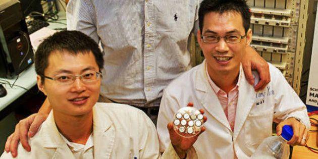 Cientistas criam bateria que é recarregada em 3