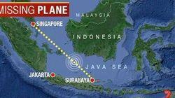 Onde está o vôo QZ8501, que desapareceu na