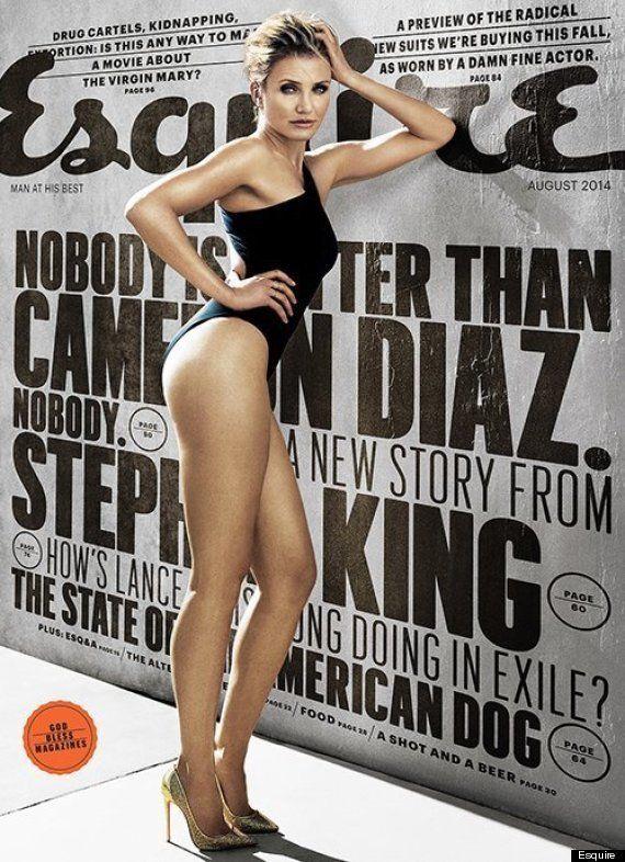 Cameron Diaz conta para Esquire como foi ficar nua no filme