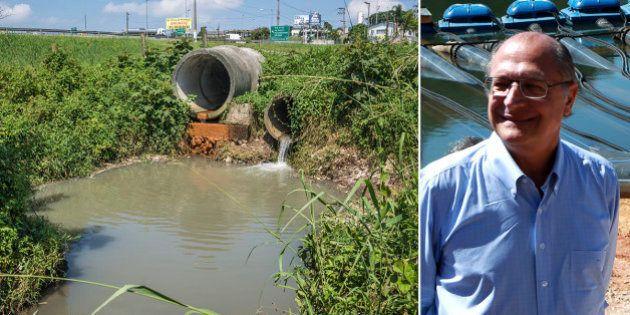 Obra para captar água da Billings para o Alto do Tietê não evita poluição da