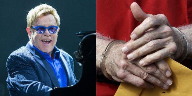 Falsário se passava por ex-baterista de Elton John é preso pela polícia em São