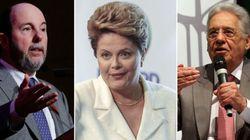 Dilma critica Armínio Fraga e FHC, expoentes de Aécio: 'Está em jogo o salário
