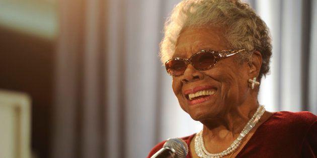 Maya Angelou nasceu em 4 de abril de
