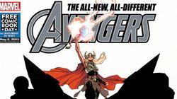 Marvel lança novos Vingadores e 'Thor mulher' é o grande