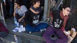 Inquérito polêmico faz manifestantes ficarem acorrentados em São