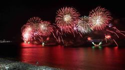 FOTOS: Os festejos de Ano Novo pelo