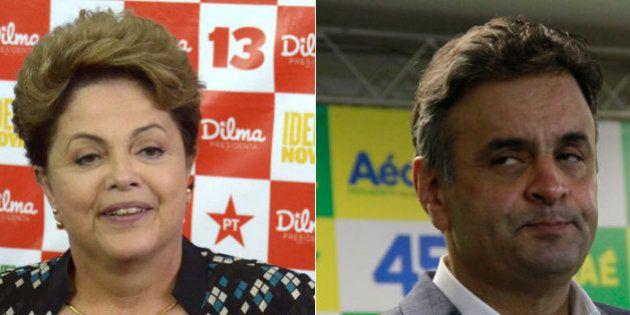 Com maior aprovação desde os protestos de 2013, Dilma Rousseff aparece seis pontos a frente de Aécio...