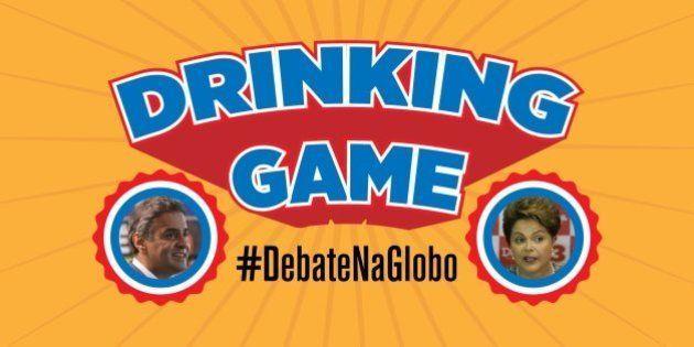 Drinking game #DebateNaGlobo: 14 frases inesquecíveis de Dilma Rousseff e Aécio