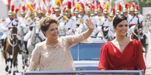 Em posse do 2º mandato, Dilma Rousseff exalta gestão do PT e assegura mudanças exigidas nas urnas: 'Não...
