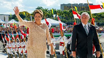 Dilma Rousseff e o figurino da