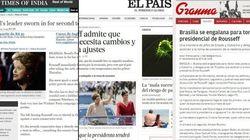 Principais jornais latino-americanos destacam posse de