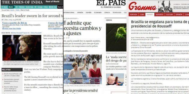 Posse de Dilma é destaque na mídia latino-americana; jornais europeus praticamente 'ignoram'