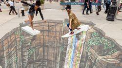 11 obras 3D de street art que vão te