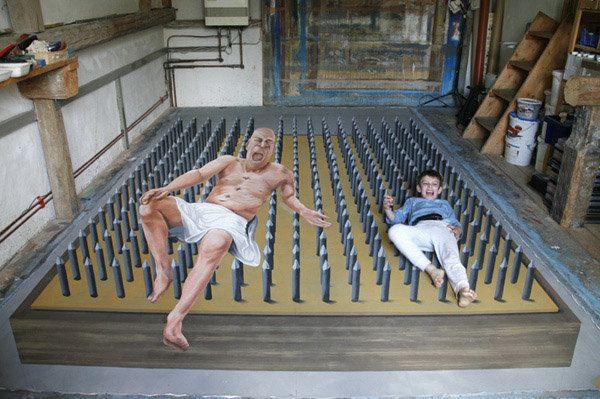 11 obras 3D de arte de rua que vão te hipnotizar