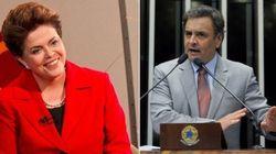 Pela primeira vez, pesquisa aponta empate entre Dilma e Aécio no 2º