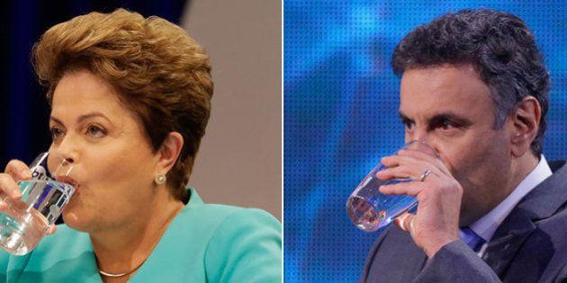 #DebateNaGlobo: Dilma tinha – e ainda tem – perguntas sobre a crise da água em SP a Aécio. E elas devem...