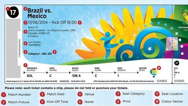 Copa 2014: novos postos de retirada de ingressos passam a funcionar em sete