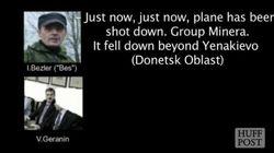 ASSISTA: Ucrânia divulga suposta gravação que prova que rebeldes derrubaram
