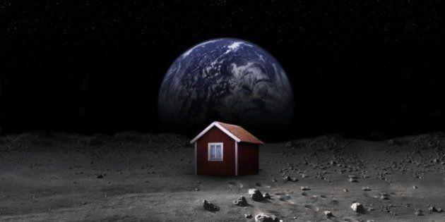 Projeto de artista sueco quer arrecadar R$ 34,7 milhões para enviar casa à lua em