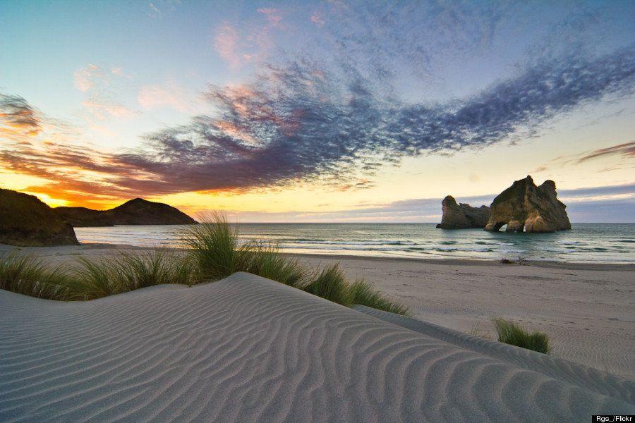 Wharariki Beach, o novo destino dos visitantes da Nova Zelândia
