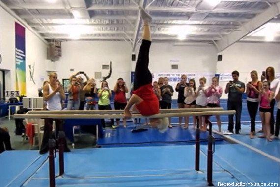 Ginasta mais velha do mundo surpreende nova geração com acrobacias incríveis