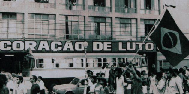 Secretaria da Educação promove atividades temáticas para lembrar os 50 anos do Golpe Militar de 1964....
