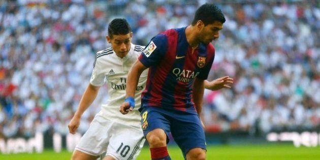 Em estreia oficial de Suárez, Real Madrid vence Barcelona de