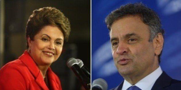 Aécio diminui vantagem de Dilma no Datafolha, que aponta empate técnico no limite da margem de