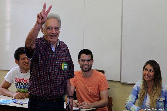 'Brasil se convenceu de que é hora de mudar', diz ex-presidente Fernando Henrique