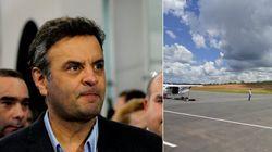 Aécio sobre aeroporto 'familiar': 'Prevaleceu o interesse