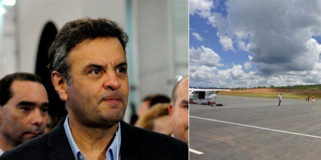 'Prevaleceu o interesse público', diz Aécio, sobre aeroporto construído pelo governo de MG e administrado...