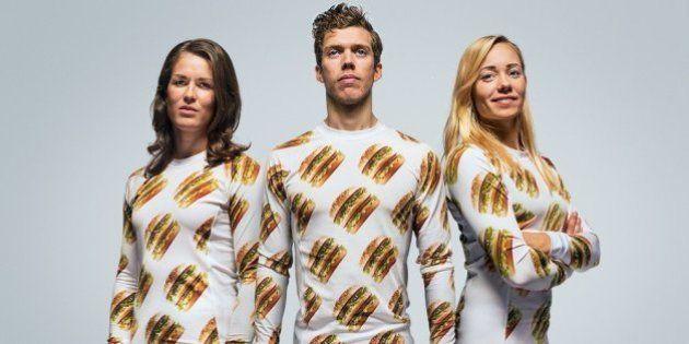 Na Suécia, McDonald's lança linha de produtos com estampas de seu