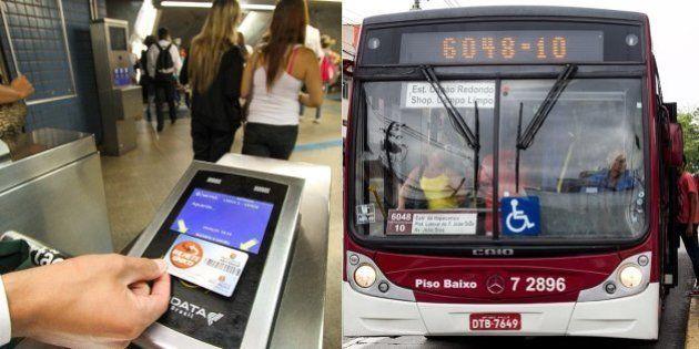 Aumento da tarifa de transporte público: Passagem passa a ser R$ 3,50 em São Paulo, e Movimento Passe...
